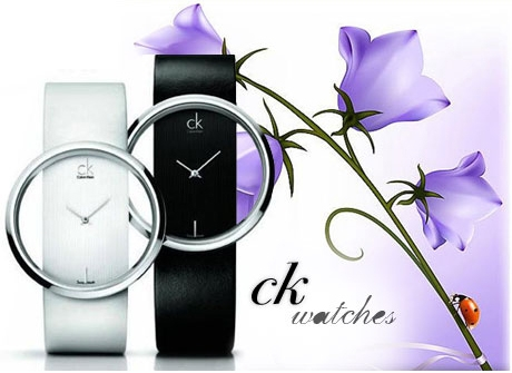 ساعت سفید ck