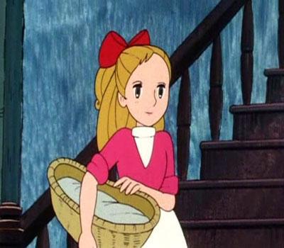 کارتون دختری به نام نل